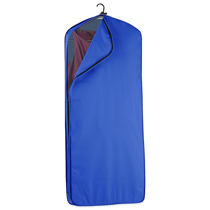 Alternate image 1 for WallyBags® 52-Inch Dress Length Garment Bag in Royal Blue