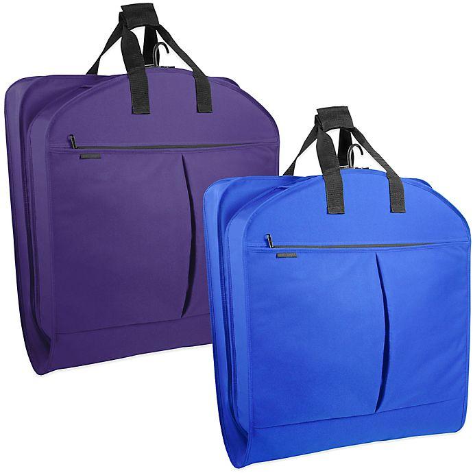 WallyBags® 52-Inch Dress Length Garment Bag with Pockets   Bed Bath ... 6d83c61cb1