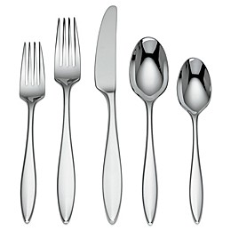 Dansk Nya Collection Stainless 5-Piece Flatware Place Setting