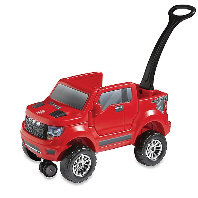 Alternate image 1 for Step2® 2-in-1 Ford F-150 SVT Raptor in Red