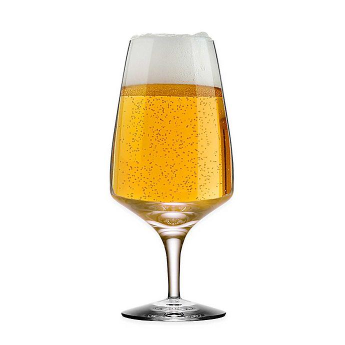Orrefors Pulse Beer Glass (Set of 4)   Bed Bath & Beyond