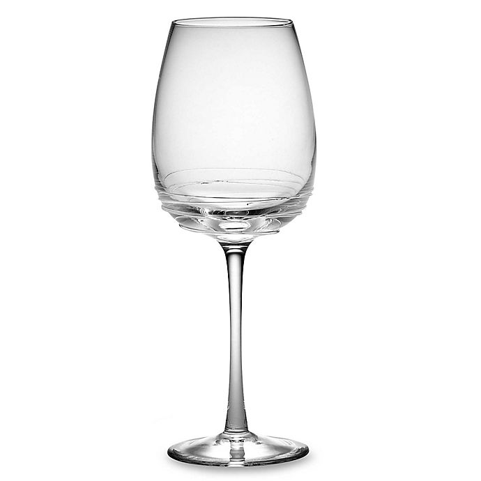 Alternate image 1 for Mikasa® Swirl Goblet in Clear