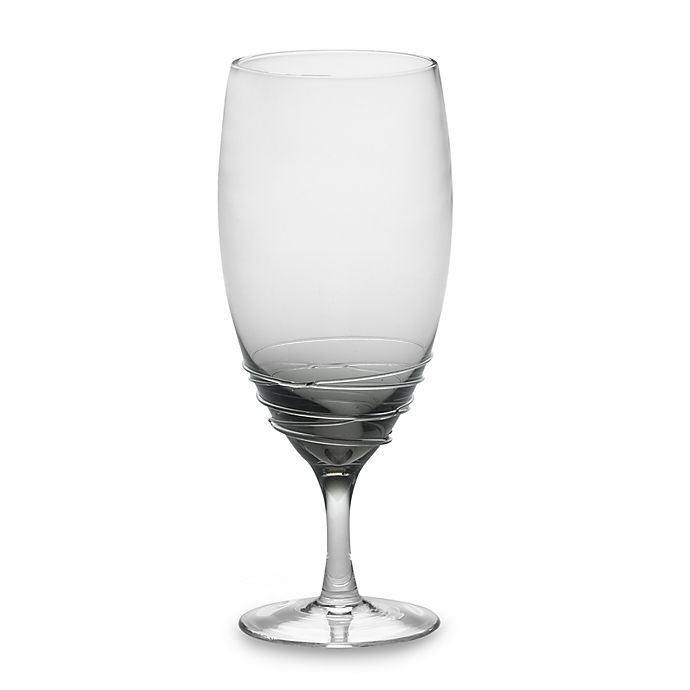 Alternate image 1 for Mikasa® Swirl Iced Beverage Glass in Smoke
