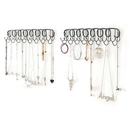Wall Mount Jewelry Organizers (Set of 2)