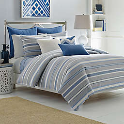 Nautica® Sedgemoor Duvet Cover Set in Grey
