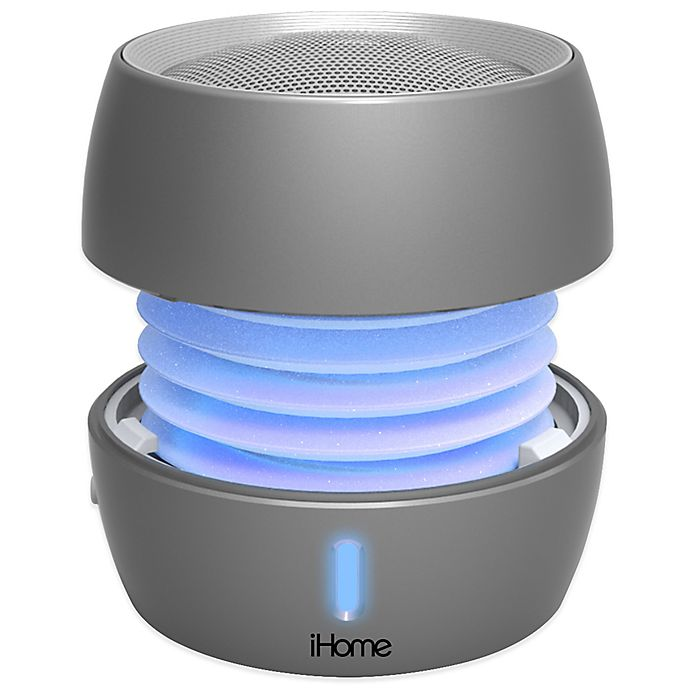 Alternate image 1 for iHome® iBT73 Color Changing Bluetooth® Mini Speaker for iPhone/iPod®