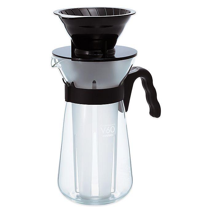 Alternate image 1 for Hario V60 Fretta VIC-02B Ice Coffee Maker in Black