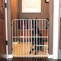Carlson Big Tuffy Expandable Pet Gate in White