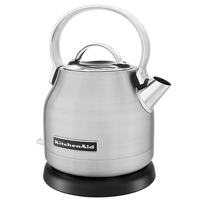 Alternate image 1 for KitchenAid® 1.25-Liter Electric Kettle in Stainless Steel