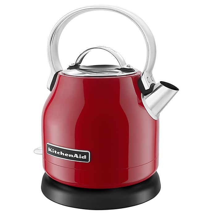 Alternate image 1 for KitchenAid® 1.25-Liter Electric Kettle in Red