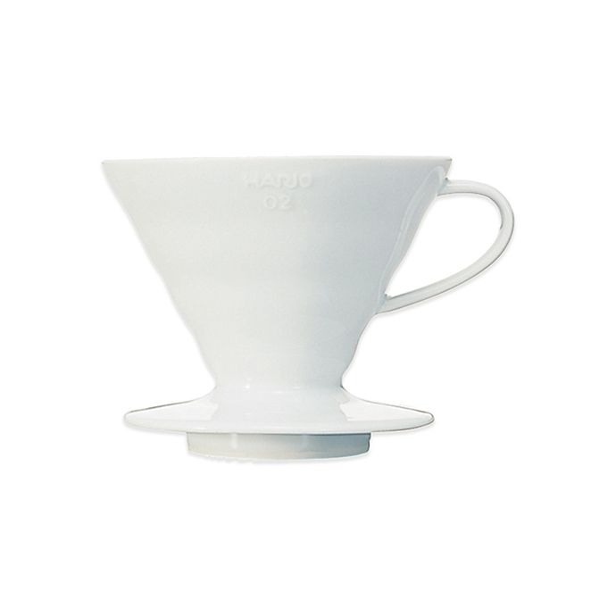 Alternate image 1 for Hario V60 Ceramic Coffee Dripper and Filter Paper