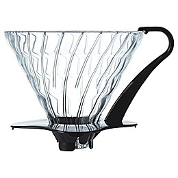 Hario V60 Glass Coffee Dripper and Filter