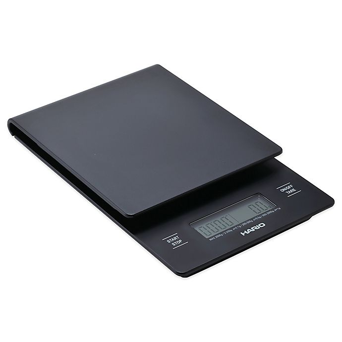 Alternate image 1 for Hario V60 Coffee Drip Scale/Timer