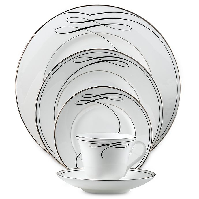 Alternate image 1 for Waterford® Ballet Ribbon Dinnerware Collection
