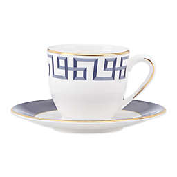 Brian Gluckstein by Lenox® Darius™  Cup and Saucer in Gold