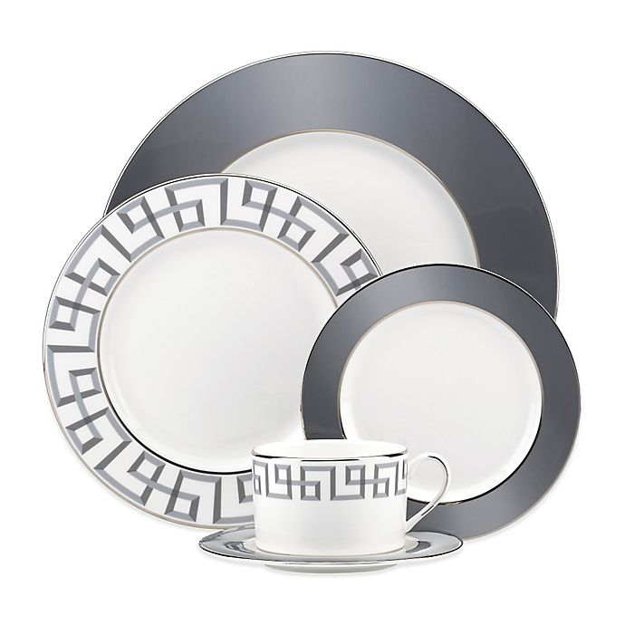 Alternate image 1 for Brian Gluckstein by Lenox® Darius Dinnerware Collection in Silver
