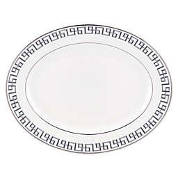 Brian Gluckstein by Lenox® Darius 13-Inch Oval Platter in Silver