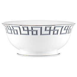 Brian Gluckstein by Lenox® Darius Serving Bowl in Silver
