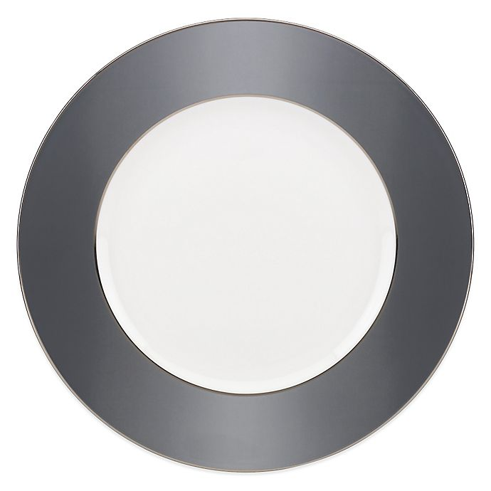 Alternate image 1 for Brian Gluckstein by Lenox® Darius Dinner Plate in Silver