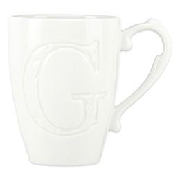 Lenox® Initially Mine Carved Monogram Mug