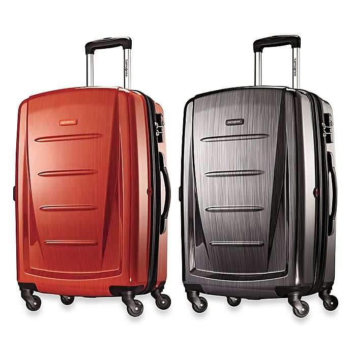 Alternate image 1 for Samsonite® Winfield 2 Fashion 24-Inch Spinner Checked Luggage