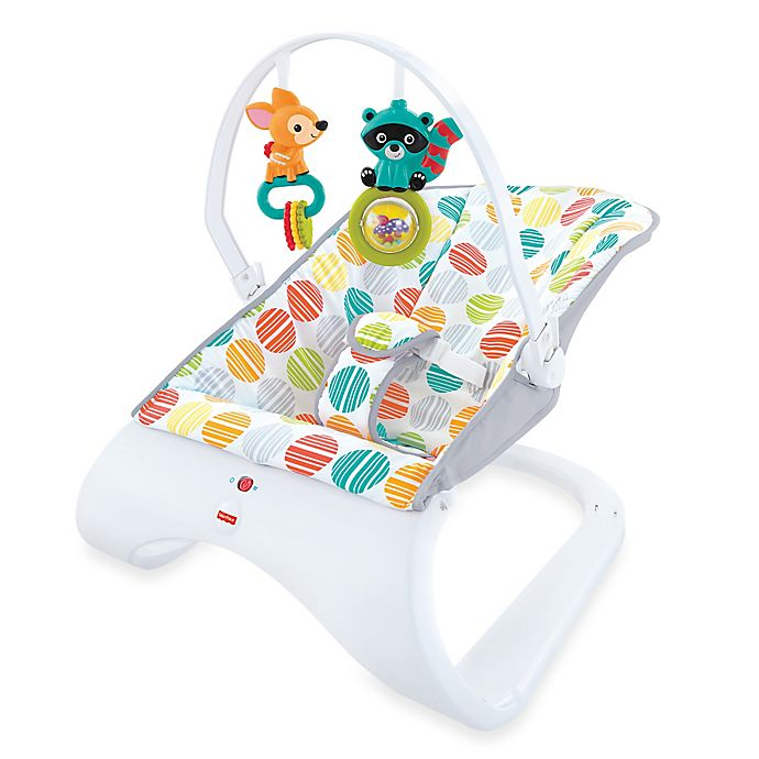 Alternate image 1 for Fisher-Price® Comfort Curve™ Bouncer in Cake Pop