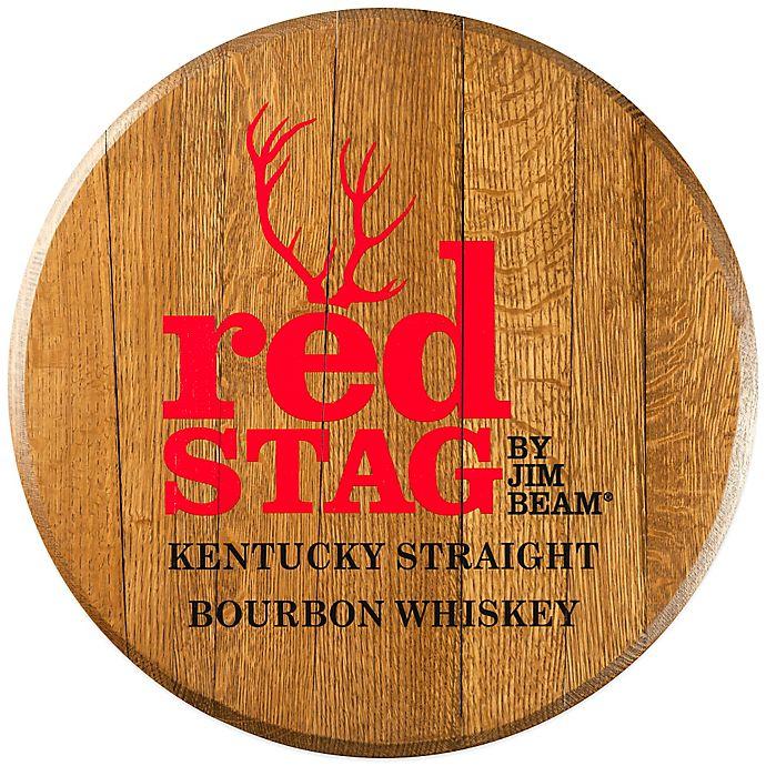 Jim Beam 174 Red Stag Bourbon Barrel Head Wall D 233 Cor Bed