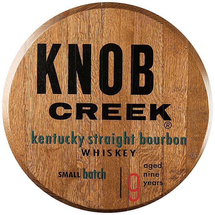 Knob Creek Bourbon Barrel Head Wall Décor Bed Bath Beyond