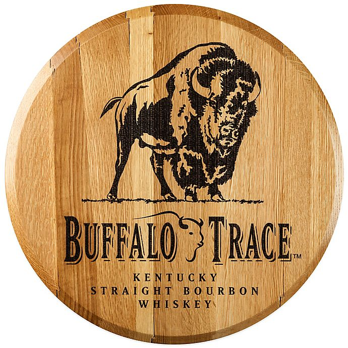Buffalo Trace Bourbon Barrel Head Wall Décor Bed Bath Beyond