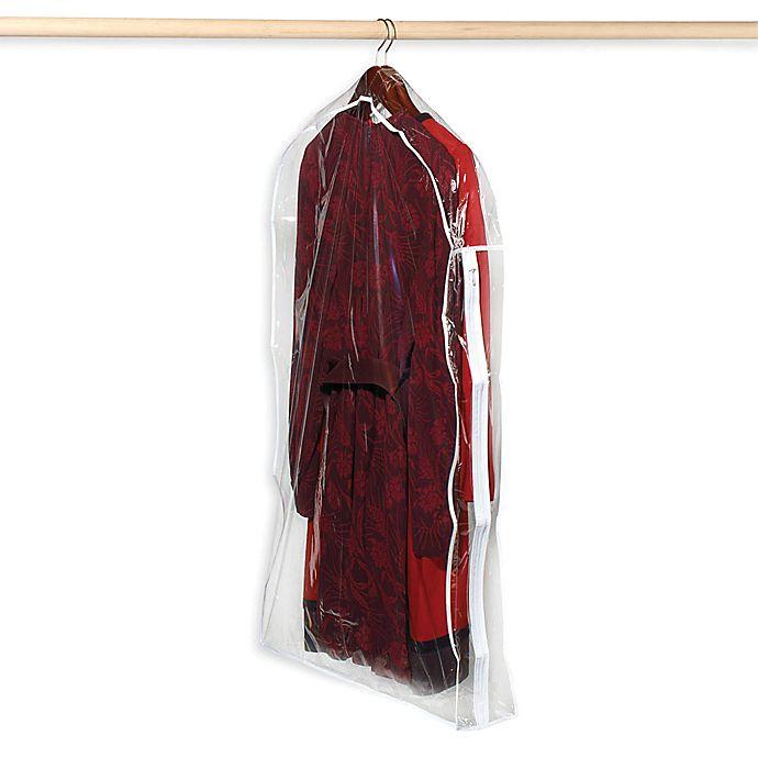 Alternate image 1 for Crystal Clear Vinyl Suit Bag