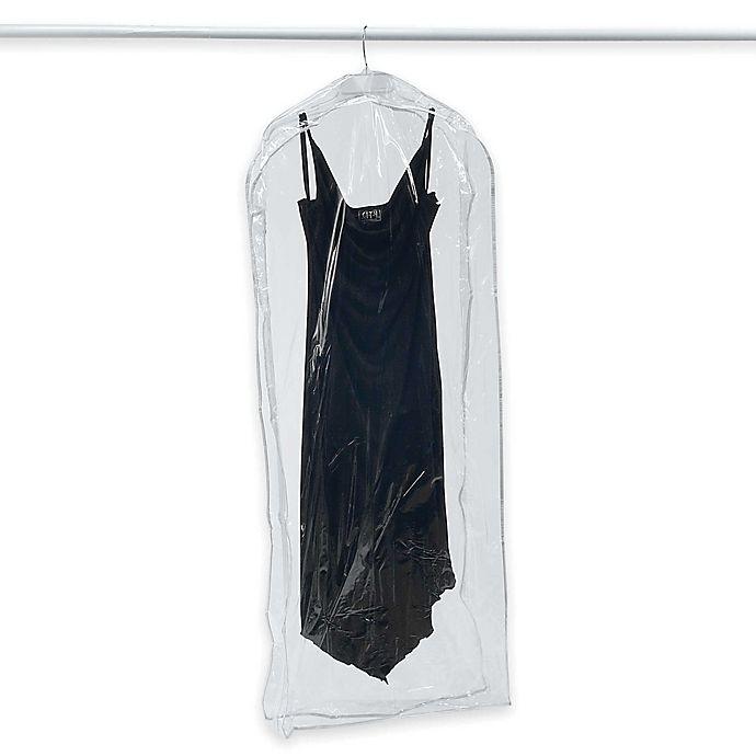 Alternate image 1 for Crystal Clear Vinyl Dress Bag