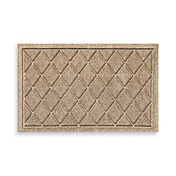 Weather Guard™ 18-Inch x 28-Inch Argyle Door Mat