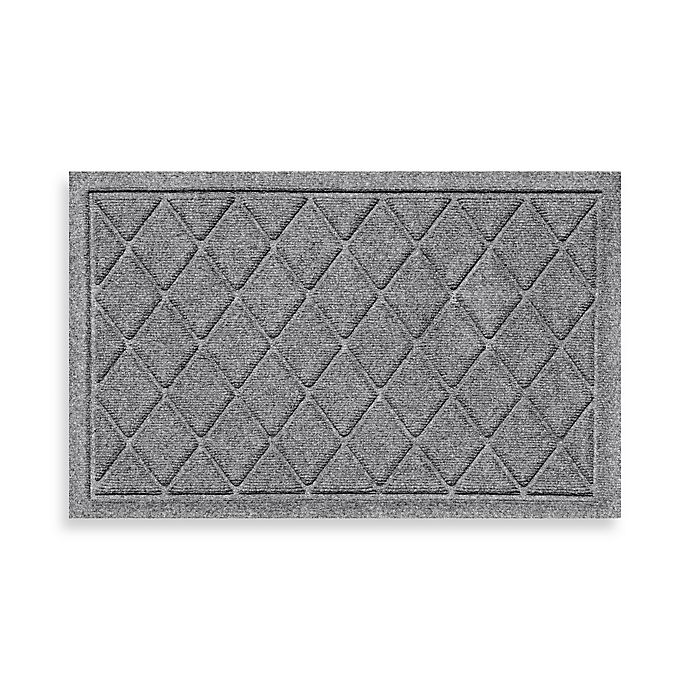 Weather Guard 18 Inch X 28 Inch Argyle Door Mat Bed
