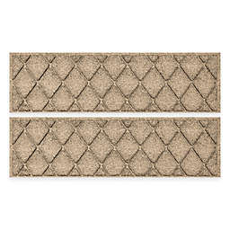 Weather Guard™ Argyle 8.5-Inch x 30-Inch Stair Treads (Set of 2)