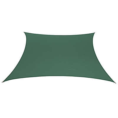 Coolaroo® Coolhaven 12-Foot Square Shade Sail with Fixing Kit
