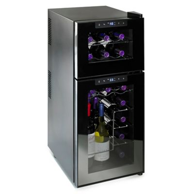 Wine Enthusiast 174 Silent Touchscreen 21 Bottle Dual Zone