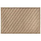 Weather Guard™ Argyle 30-Inch x 45-Inch Door Mat in Camel