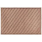 Weather Guard™ Argyle 30-Inch x 45-Inch Door Mat in Medium Brown
