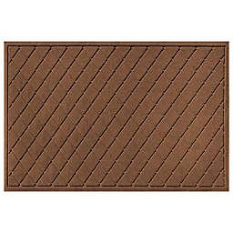 Weather Guard™ Argyle 30-Inch x 45-Inch Door Mat in Dark Brown