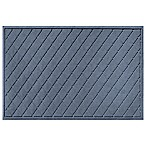 Weather Guard™ Argyle 30-Inch x 45-Inch Door Mat in Blue Stone