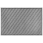 Weather Guard™ Argyle 30-Inch x 45-Inch Door Mat in Medium Grey