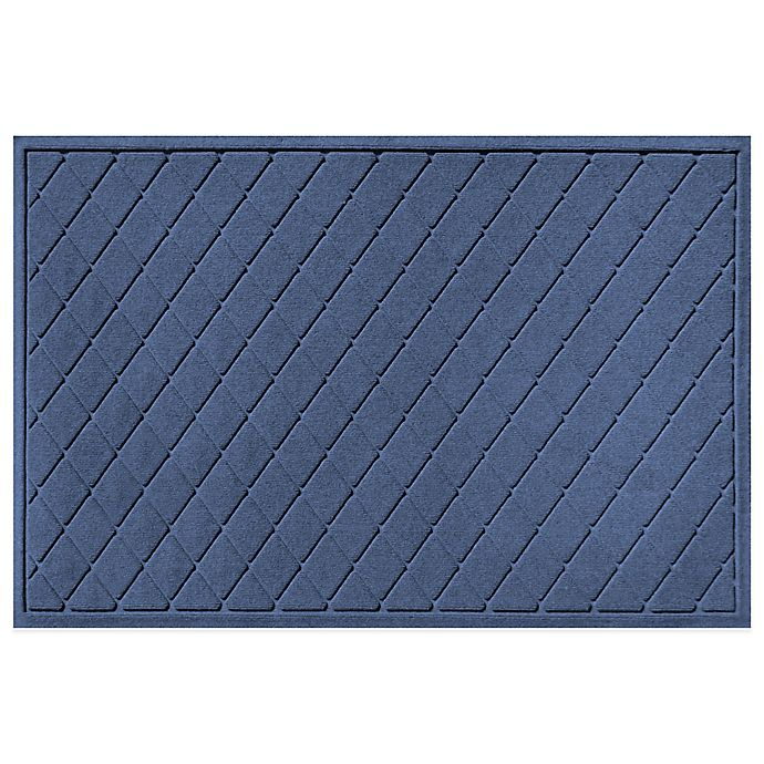 Weather Guard Argyle 30 Inch X 45 Inch Door Mat Bed