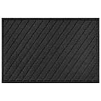 Weather Guard™ Argyle 30-Inch x 45-Inch Door Mat in Charcoal