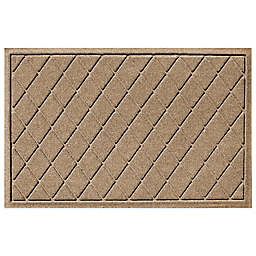 Weather Guard™ Argyle 23-Inch x 35-Inch Door Mat in Camel