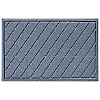 Weather Guard™ Argyle 23-Inch x 35-Inch Door Mat in Blue Stone