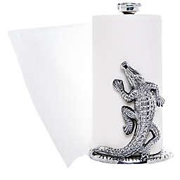 Arthur Court Alligator Paper Towel Holder