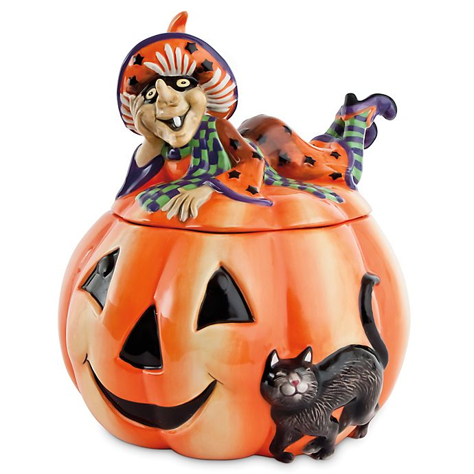 Alternate image 1 for Fitz and Floyd® Witch Hazel Cookie Jar