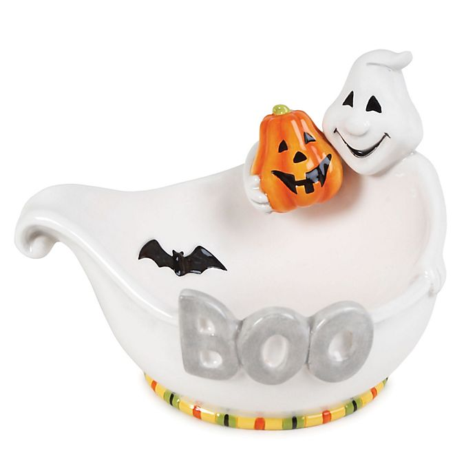 Alternate image 1 for Fitz and Floyd® Boo Ghost Bowl