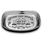 Wilton Armetale®  Bless This House  Bread Tray