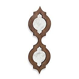 Quadrafoil Wood Wall Mirror